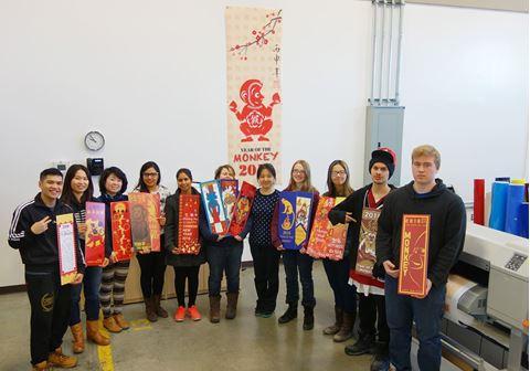 MITT Student Wins Downtown Biz Street Banner Contest